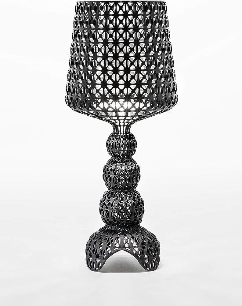 Kartell kabuki lampada da tavolo dimmer, nero 0920009