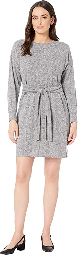 Opal Sweater Knit Dress with Front Tie