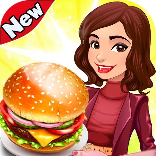 Kochen Crazy Food Restaurant Burger Fieber Spiele