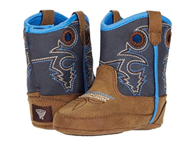 M&F Western Kids Baby Bucker Ben (Infant/Toddler) (Brown) Boys Shoes