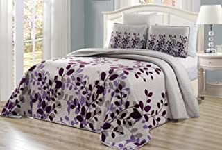 Best purple and gray queen comforter Reviews