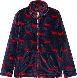 Red Labs Fuzzy Fleece Zip-Up (Toddler/Little Kids/Big Kids)