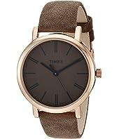 Originals Tonal Leather Strap Watch