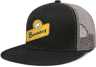for Women Cap Bundaberg Rum Logo Adjustable Breathable Simple Truckers Hats