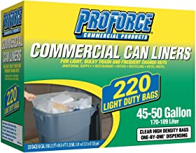 ProForce Commercial 45-50 gal. Trash Bags (220 ct.)