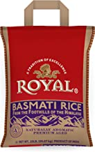 Royal White Basmati Rice, 20 Pound (Pack of 1)