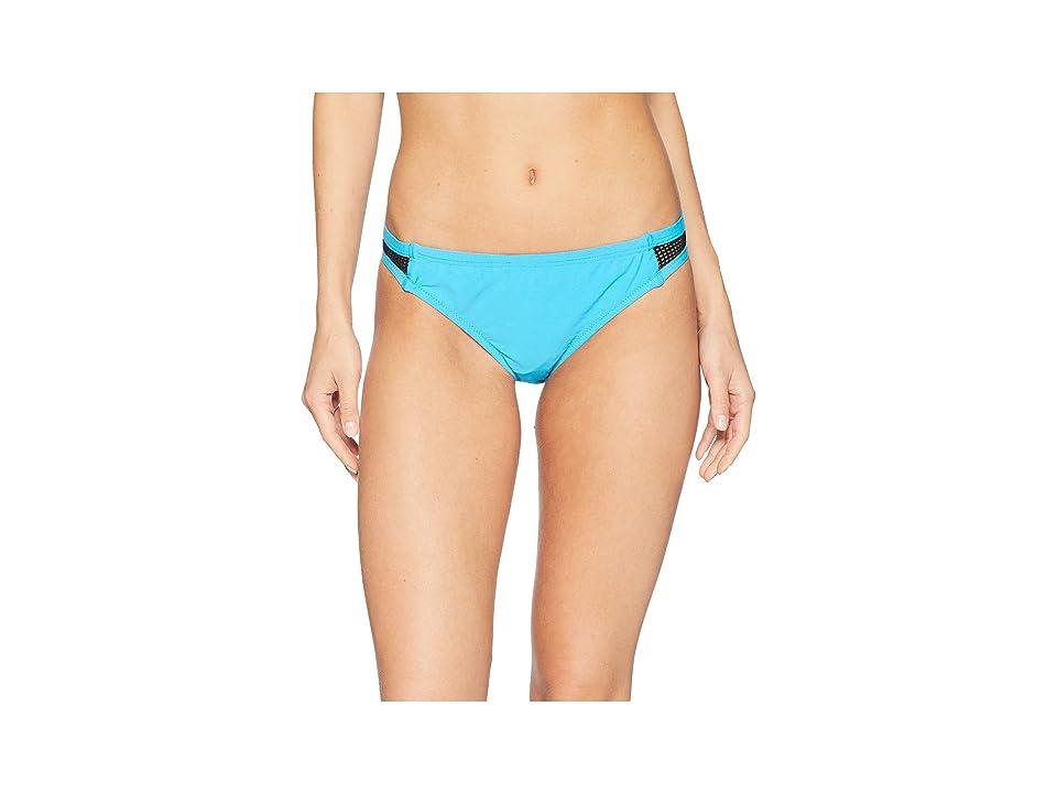 Speedo Turnz Mesh Bottom (Electric Turquoise) Women