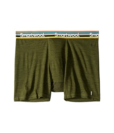 Smartwool Merino Sport 150 Boxer Brief (Moss Green Heather) Men