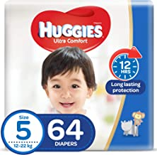 Huggies Ultra Comfort, Size 5, 12-22 kg, 64 Diapers