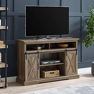 WE Furniture AZ52HBSBDRO TV Stand, 52