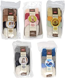 Cool Beans Boutique 20 Colors Set of Wool for Wool Felting Projects - Daiso Japan
