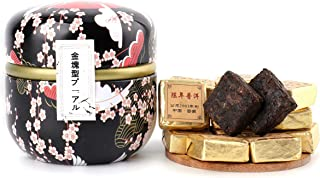 プーアル 普洱茶 茶葉 茶餅 中国茶 金塊型老樹小沱茶 雲南省産 プティーパック 熟茶 24個入