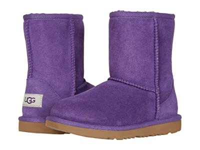 UGG Kids Classic II (Little Kid/Big Kid) (Violet Bloom) Girls Shoes