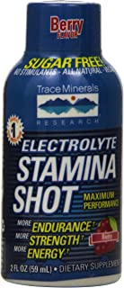 Trace Minerals Research EXSS - Electrolyte Stamina Shot Mineral Supplement