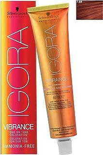 Schwarzkopf Professional Igora Vibrance Tone Hair Color, 7-88, Medium Blonde Red Extra, 2.1 Ounce