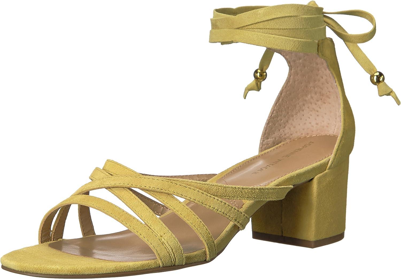Adrienne Vittadini Footwear Women's Alesia Block Heel Dress Sandal