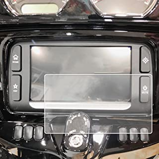 2014-2018 Compatible with Harley Davidson Street Glide Boom Box Motorcycle Screen Saver Custom Fit Invisible High Clarity Touch Display Protector Minimizes Fingerprinting 6.5 Inch