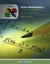 Best finite mathematics a problem solving approach Reviews