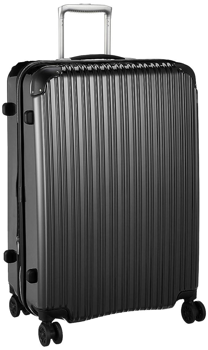 トロリーバス露骨な貧しい[シフレ] ハードジッパースーツケース Lサイズ 拡張 保証付 102L 65 cm 4.7kg
