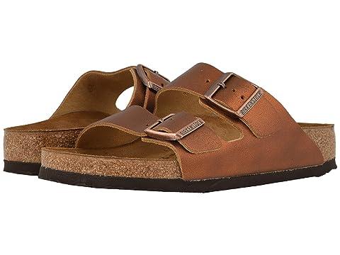 Birkenstock Shoes , WASHED METALLIC ANTIQUE BROWN