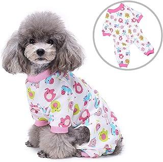 Zunea Pijama para Perro pequeño, para Cachorro, niña, niño, Mascota, Gato