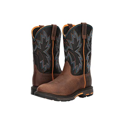 Ariat Workhog Raptor (Earth/Black Snake Print) Cowboy Boots