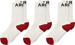 Ariat Crew Socks 3-Pack (Little Kid/Big Kid)