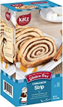 Katz Gluten Free Cinnamon Strip | Dairy, Nut, Soy and Gluten Free | Kosher (1 Pack of 1 Loaf, 15 Ounce)