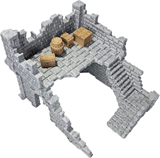Building Ruins 1B Gaming Terrain Set by Extruded Gaming
