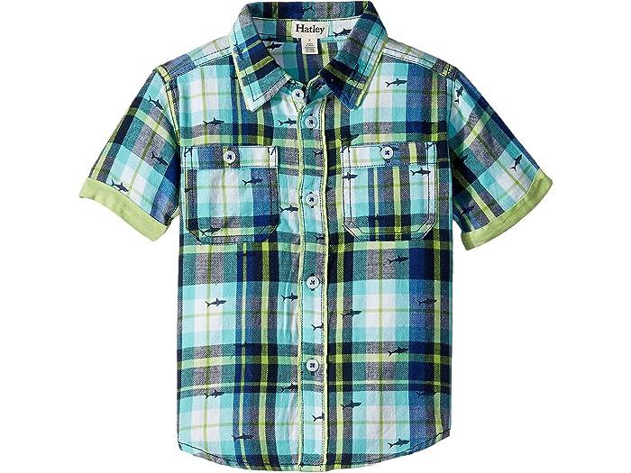 Hatley Boys Short Sleeve Button Down Shirts