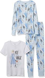 Spotted Zebra Kids' Disney Star Wars Marvel Snug-Fit Cotton Pajamas Sleepwear Sets