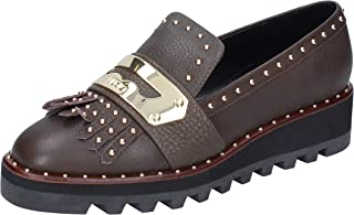 LIU JO Moccasins Womens Leather Brown