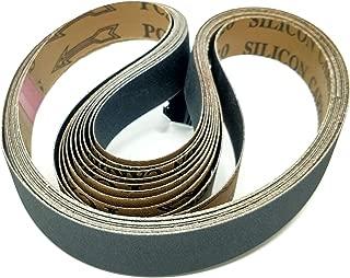 1x30 - 1000 Grit 10 Pack - Silicon Carbide Sanding Belts Model: DE010301000BD