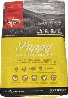 Orijen 4.5 LB Puppy Dry Dog Food Formula. (1 Pack) Grain Free Puppy Food