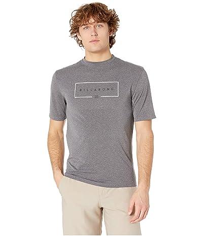 Billabong Union Loose Fit Short Sleeve (Grey Heather) Men