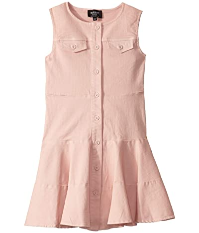 Bardot Junior Milly Denim Dress (Big Kids) (Latte Pink) Girl
