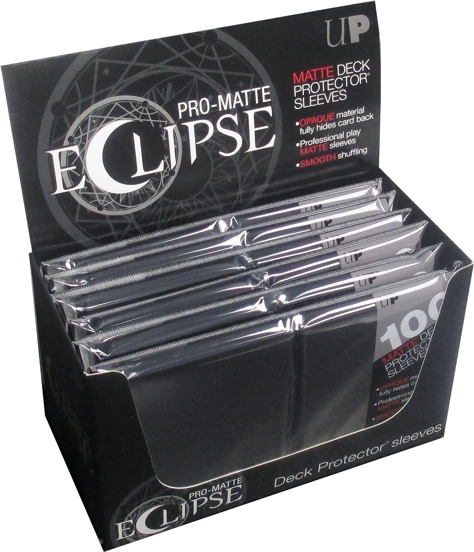 New product Ultra Pro Pro-Matte Eclipse Jet Size Ranking TOP18 Standard Black Sleeves Box