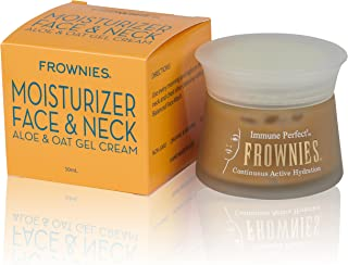 Frownies Moisturizer Face and Neck Gel Cream 50 Milliliter