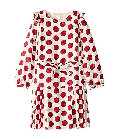 Burberry Kids Lenka Dress (Little Kids/Big Kids) (Windsor Red IP Pattern) Girl