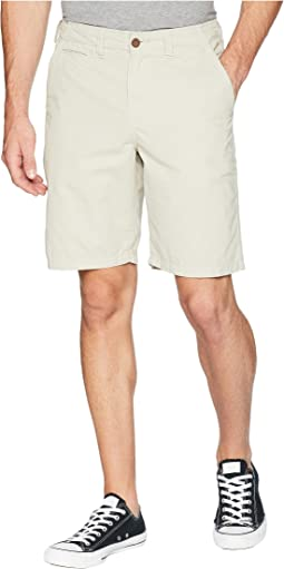 Heritage Chino Shorts Hand Treated Washed with Stitch Detail