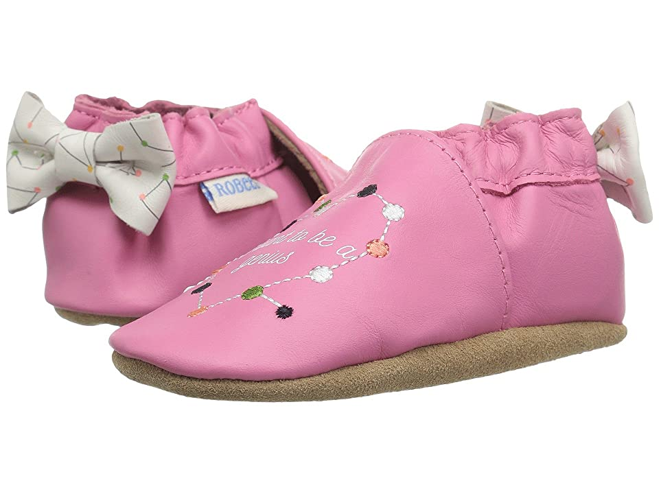 Robeez I Want To Be A Genius Soft Sole (Infant/Toddler) (Azalea) Girl