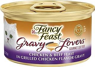 Purina Fancy Feast Gravy Wet Cat Food, Gravy Lovers Salmon Feast in Seared Salmon Flavor..