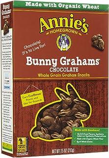 Annie's Homegrown Organic Chocolate Bunny Grahams, 213g