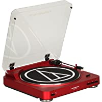 Deals on Audio Technica AT-LP60RD Fully Automatic Stereo Turntable System