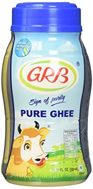 GRB Pure Ghee - Sign of Purity / 16.90 Fl. Oz., 500ml
