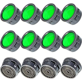Faucet Tap Aerator Plastic Insert Replacement 9 L Min 22mm 24mm Amazon Co Uk Diy Tools