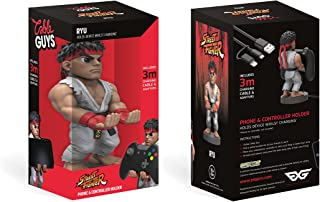 Collectable Street Fighter V Cable Guy Device Holder Works with PlayStation and Xbox controllers and all Smartphones - Ryu...