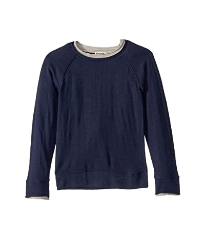 Appaman Kids Jackson Roll Neck Sweater (Toddler/Little Kids/Big Kids) (Dark Navy) Boy