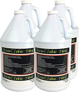 BioCide Mold and Mildew Stain Remover - 4 Gallon BioCide 100 Mold Control Trigger Spray-Kill, Clean & Prevent Mold, Mildew, Germs, Viruses, Fungi and Bacteria, DIY Mold Remediation