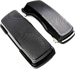 Dual 6x9 Speaker Lids For 1993-2013 Harley Davidson Road Glide Saddle Bags